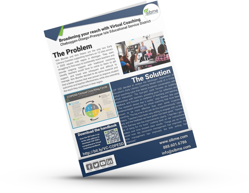 Broadening your reach with Virtual Coaching - Mock up