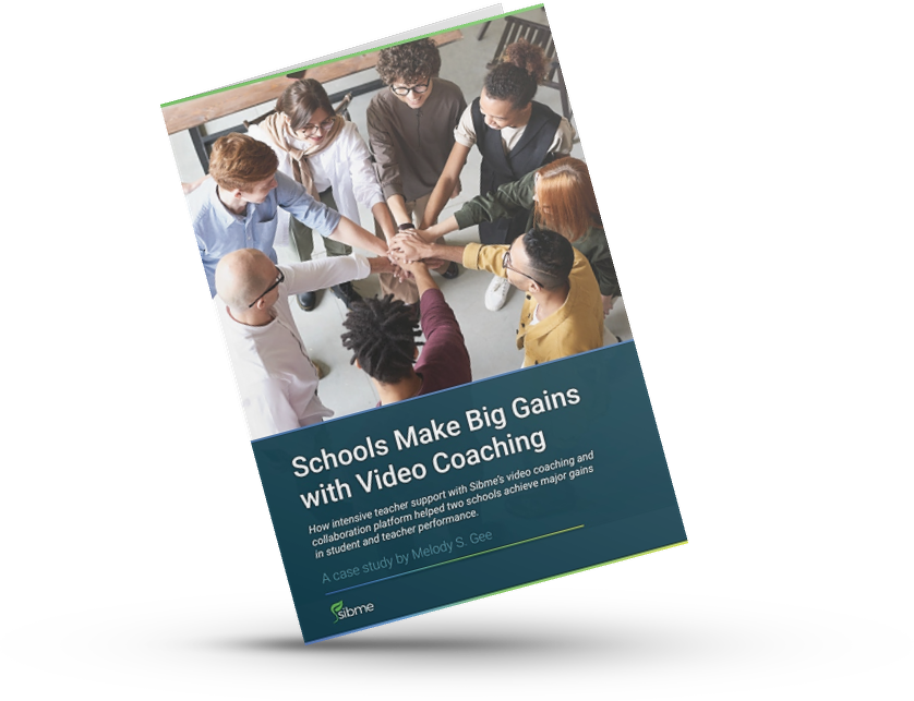 Schools Make Big Gains with Video Coaching Case Study - Mockup